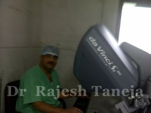 Robotic Surgeon of Apollo performing Robotic Surgery