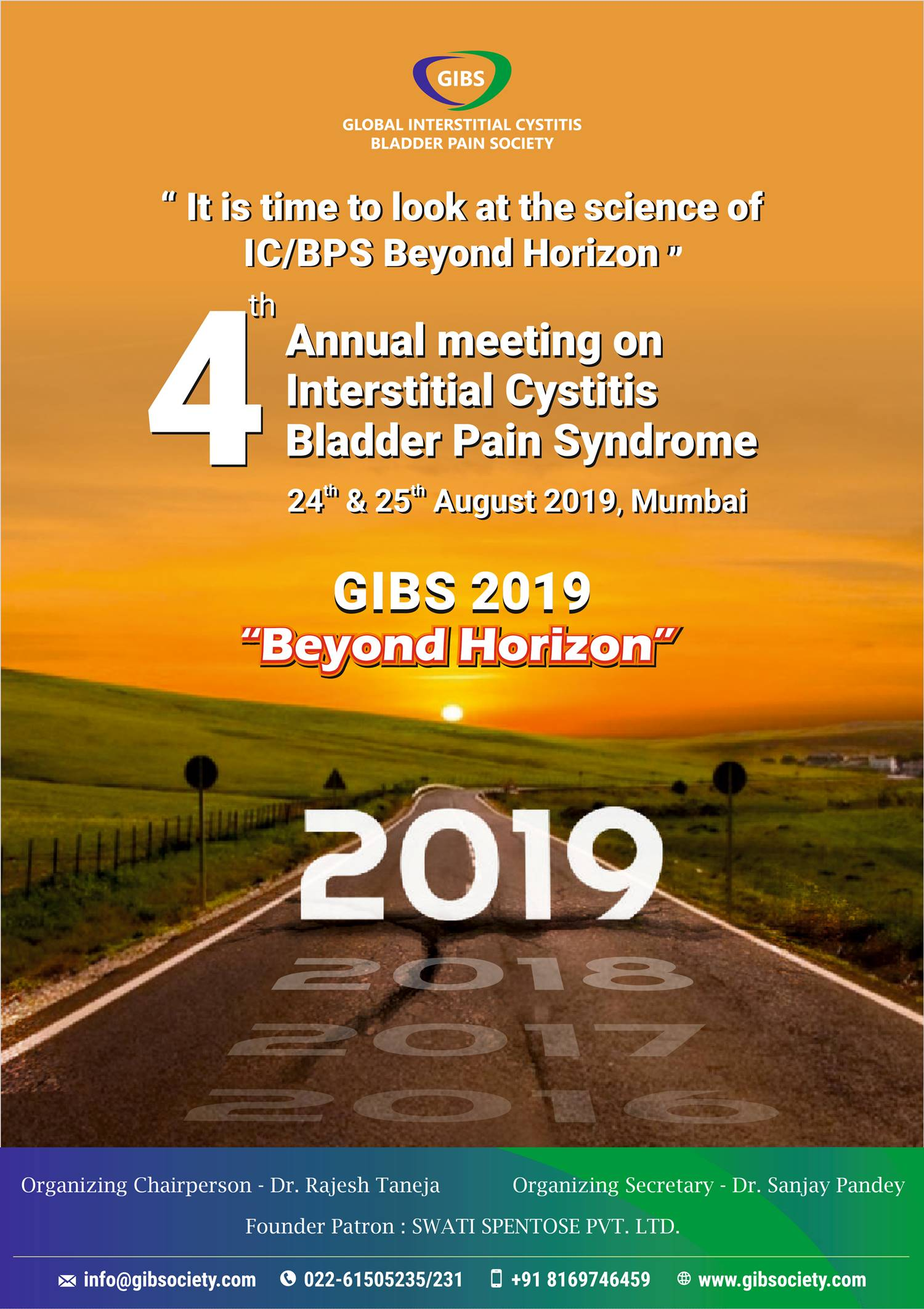 4th Annual Conference of the Global Interstitial Cystitis Bladder Pain Society (GIBS)