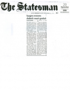 the statesman-surgery restores diabetic man's genital