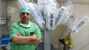 Sr Robotic Surgeon of India